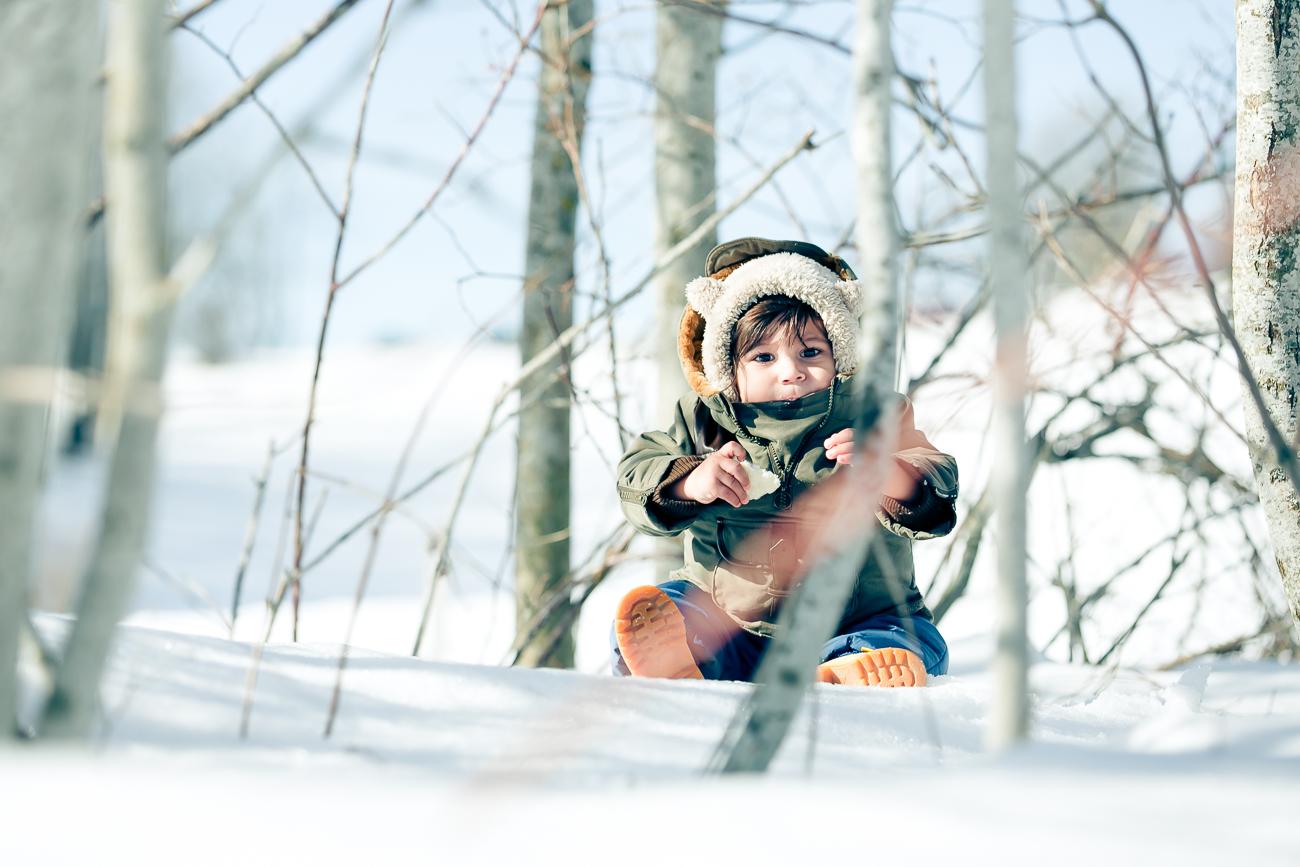 Isaac à la neige